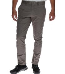 pantalon hombre slim stretch chino grafito cat