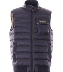 belstaff streamline puffer vest | dark ink | 71070096-80092