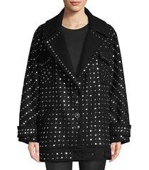 etoile wool studded coat