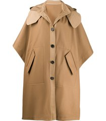 joseph cape compact trench - brown