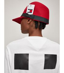 tommy hilfiger women's tommyxromeo hybrid cap red -