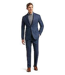 1905 collection slim fit birdseye men's suit with brrr°® comfort clearance by jos. a. bank