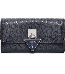 billetera azul guess