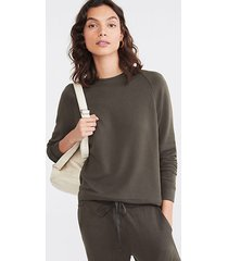 lou & grey signaturesoft plush upstate sweatshirt
