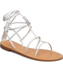 bella flat sandal shoes summer shoes flat sandals silver filippa k