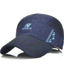 cappellino regolabile per berretto da baseball per berretto da baseball traspirante sportivo da uomo in cotone estivo da uomo