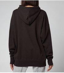 isabel marant étoile women's mansel hoodie - faded black - eu40/uk12
