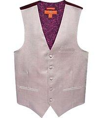 egara orange burgundy metallic formal vest