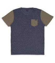 camiseta oakley esp voyage stripe masculino
