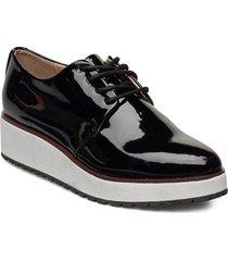 lovirede snörade skor låga svart aldo