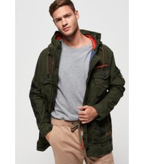 superdry mixed rookie parka jacket