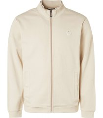 no excess sweater full zip double high neck s sand