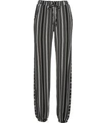 pantaloni con elastico in vita (nero) - rainbow