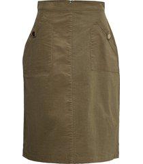cordiesz skirt knälång kjol grön saint tropez