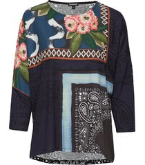 ts audrie t-shirts & tops long-sleeved multi/patroon desigual