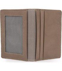 armani jeans bifold brown wallet v6v82