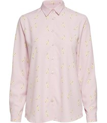 karolina pear print overhemd met lange mouwen roze whyred