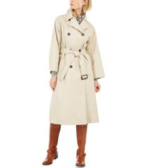 weekend max mara double-breasted trench coat