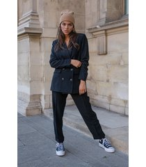 colourful rebel 9161 rikki oversized blazer black -