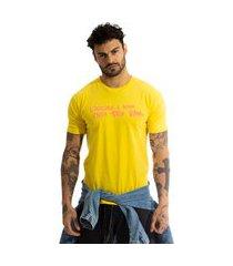 camiseta arimlap loucura e amarelo
