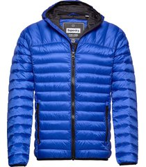 core down hooded jacket fodrad jacka blå superdry