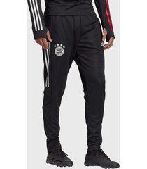 pantalón de buzo adidas performance fcb tr pnt negro - calce regular