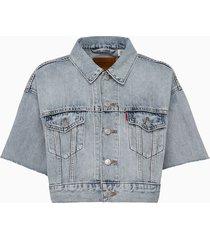 levis ss crop dad truck jacket 85296