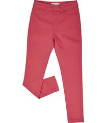 jeans jeggins color fucsia corona