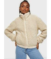 jacqueline de yong jdynakima teddy jacket otw qiq faux fur