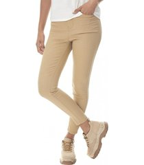 jeans color super high rise skinny mujer camel corona