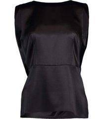 cowl back shell top