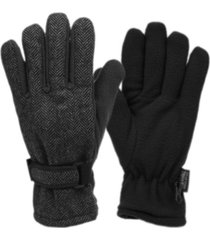epoch hats company herringbone wool blend glove