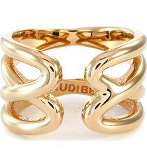 kason' gold plated double ring