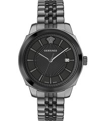 icon classic stainless steel bracelet watch