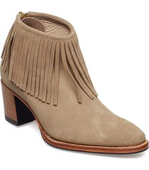 leonie low-514 shoes boots ankle boots ankle boots with heel brun primeboots