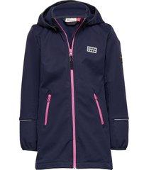 lwsofie 201 - softshell jacket outerwear softshells softshell jackets blå lego wear