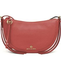 michael kors camden salmon pink crossbody bag