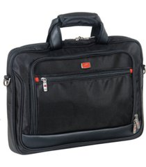 mancini biztech collection slim laptop/ tablet briefcase