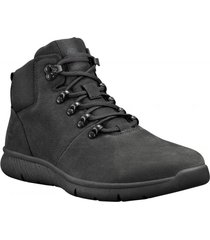 zapatilla boltero leather hiker negro timberland
