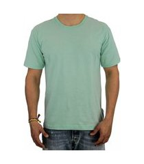 camiseta pau a pique básica verde
