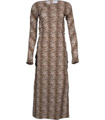 leopard print tchikiboum dress