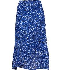 palmira sk knälång kjol blå part two