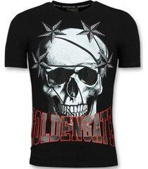 t-shirt korte mouw enos t-shirts - glitter shirt -
