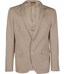 fendi light beige cotton blazer