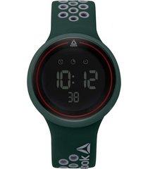 reloj verde reebok durante digital
