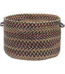 midnight braided storage basket