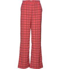 celia pants pantalon met rechte pijpen multi/patroon by malina