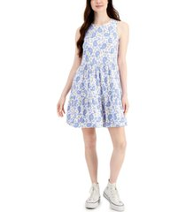 style & co paisley print dress, created for macy's