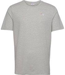 edgar tee t-shirts short-sleeved grå fila
