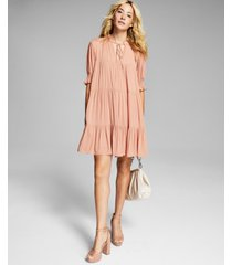 and now this women's tiered babydoll dress